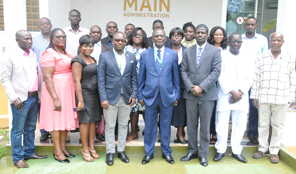 Management of Ghana Publishing Company Calls on Vice-Chancellor