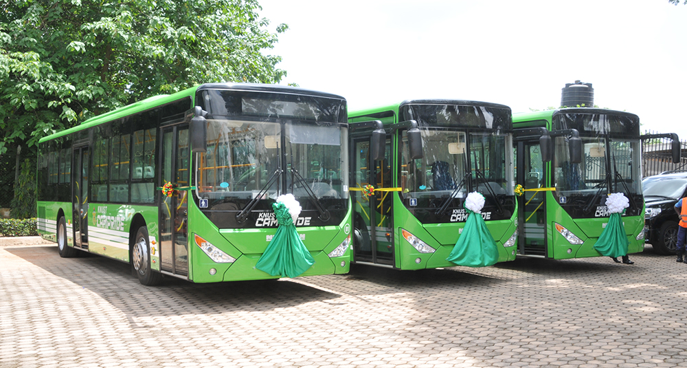 KNUST Outdoors New Buses