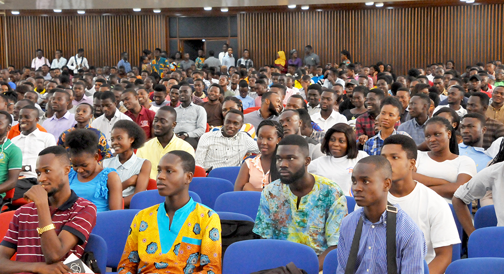 SRC Organises Job Fair for Final Year Students
