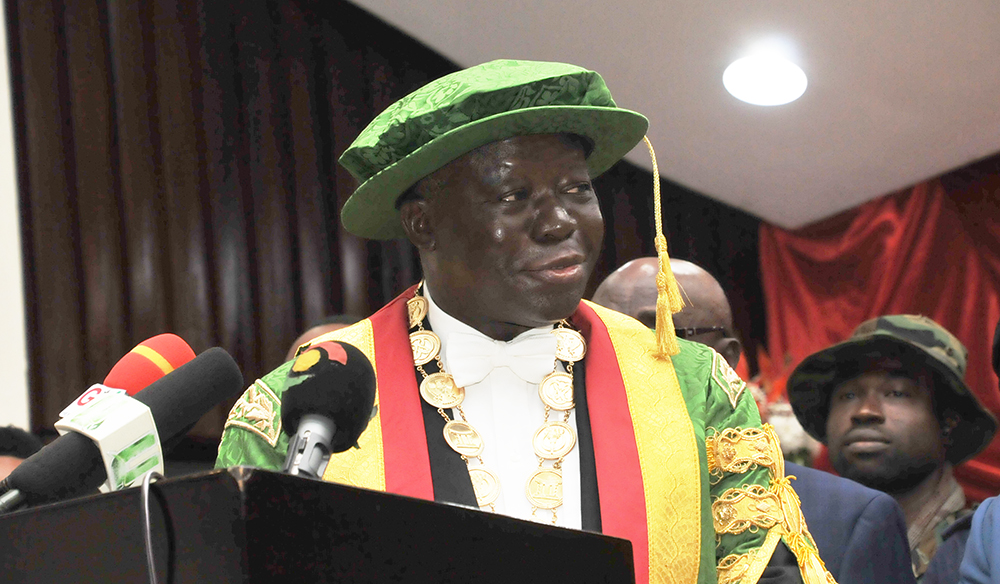 Chancellor Calls for Commensurate Facilities and Infrastructure to Meet High Demand for Tertiary Education