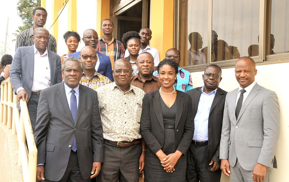 Stakeholders Attend Workshop in Preparation for Master of Intellectual Property