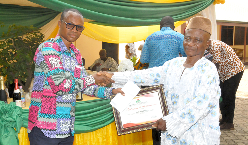 SSA-K Fetes Retired Members