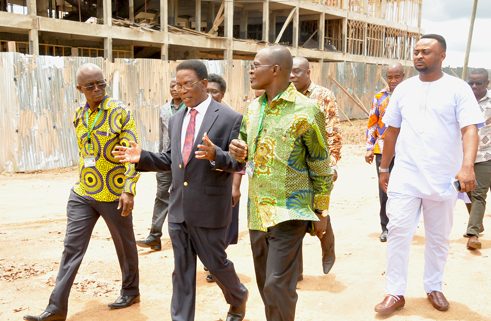 Minister for Tertiary Education Visits KNUST