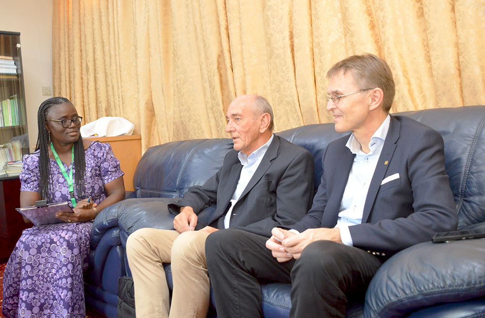 NTNU Pays a Courtesy Call on Pro Vice-Chancellor