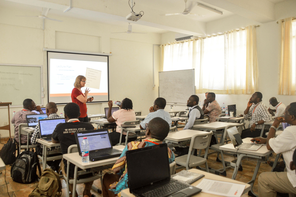 KNUST Hosts first plant breeding E-Learning workshop