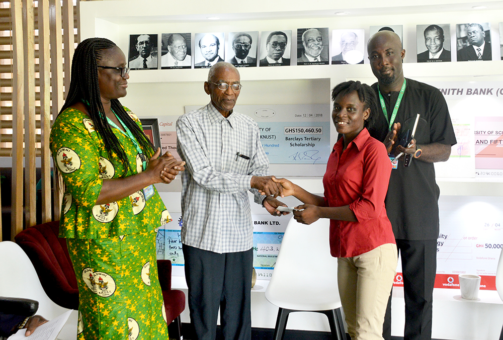 Ten Students Benefit from S. T. Nankani Scholarship Scheme