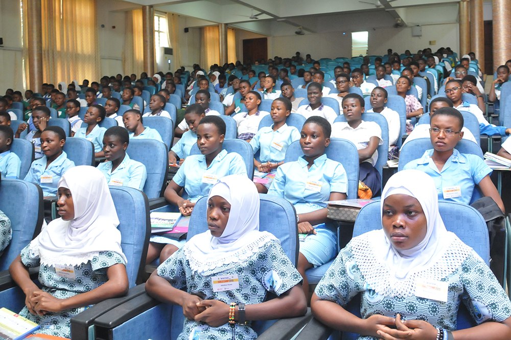 Female Students Encouraged to Pursue STEM