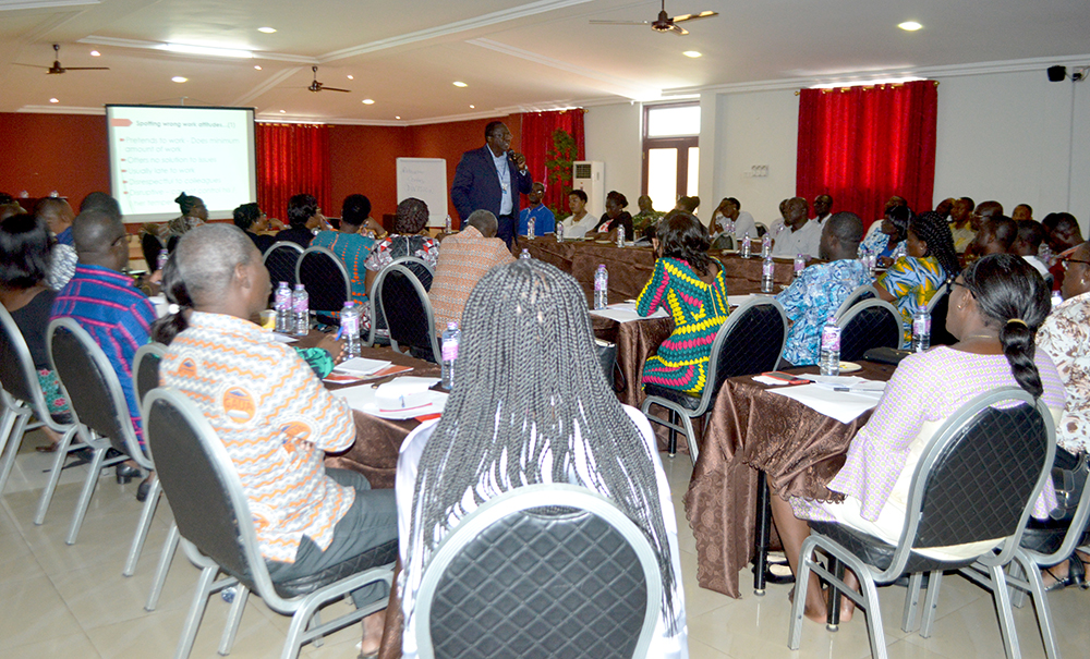 Training for Senior Administrative Members
