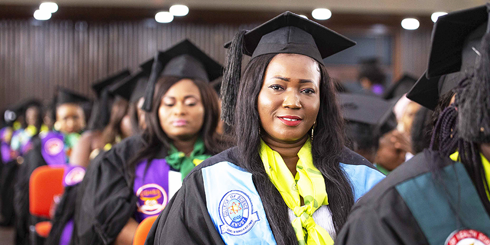 Graduation for Ministry of Health Training Institutions