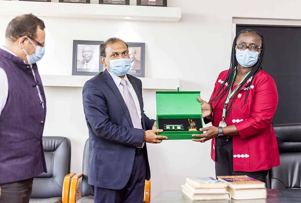 Indian High Commissioner to Ghana Visits KNUST