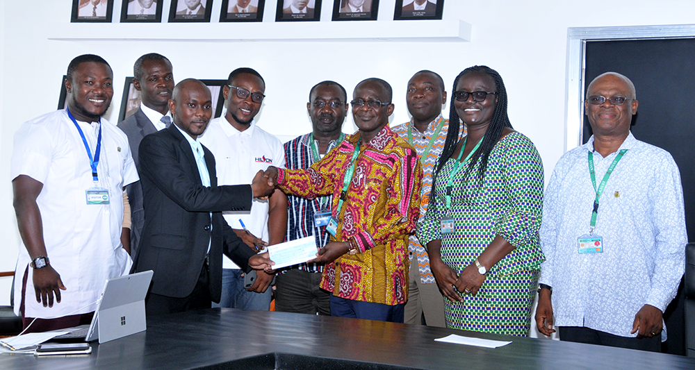 Hilson Petroleum Ghana Supports Registrar's Offices