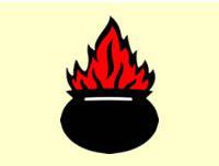 Pot of fire